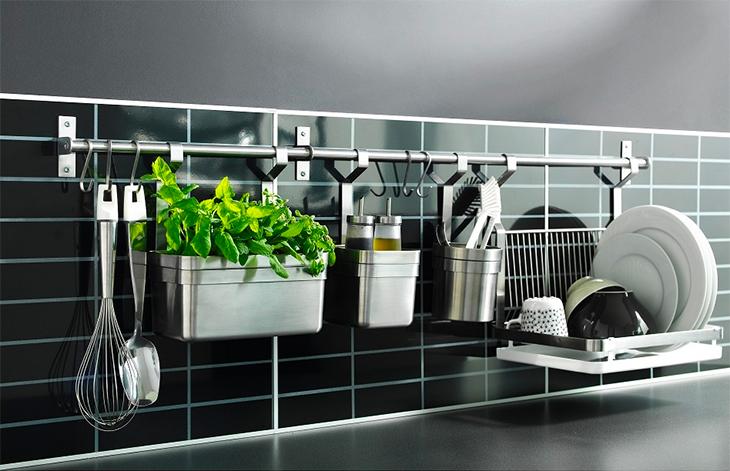 Sắp xếp các Vật dụng nhà bếp