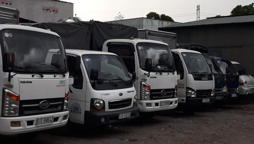 Dịch vụ xe tải chuyển nhà tại Đồng Nai