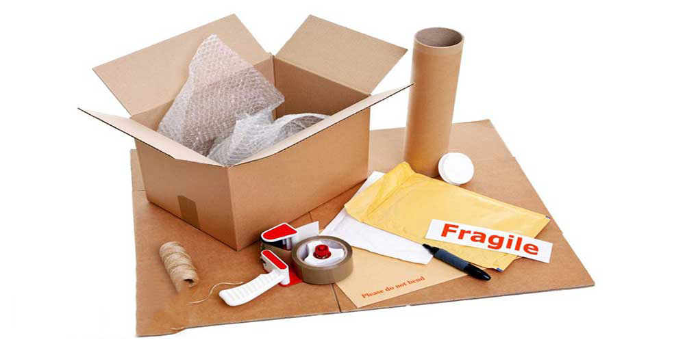 Chuẩn bị vật tư đóng gói sẵn đồ đạc