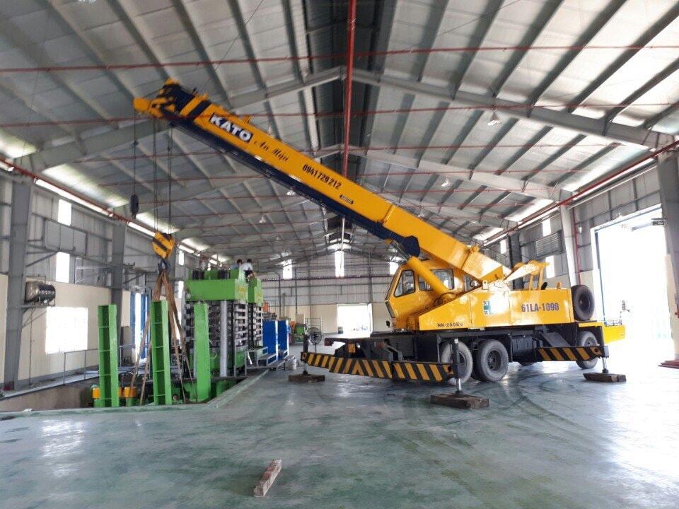Dịch vụ chuyển kho xưởng thiết bị chuyên dụng