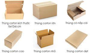 Thùng carton chất lượng