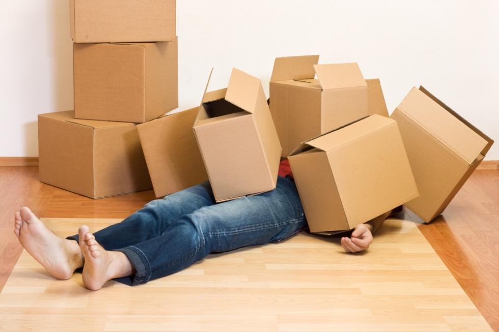 Những khó khăn gặp phải khi tự chuyển nhà