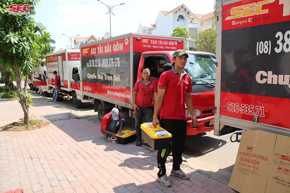 Công ty chuyển nhà Sài Gòn Express