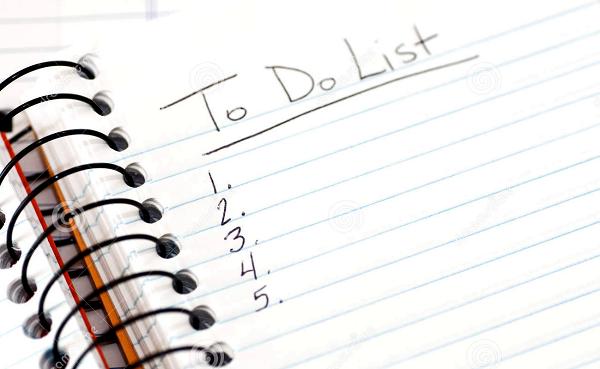 Lập danh sách các đồ dùng cần phải tháo ráp