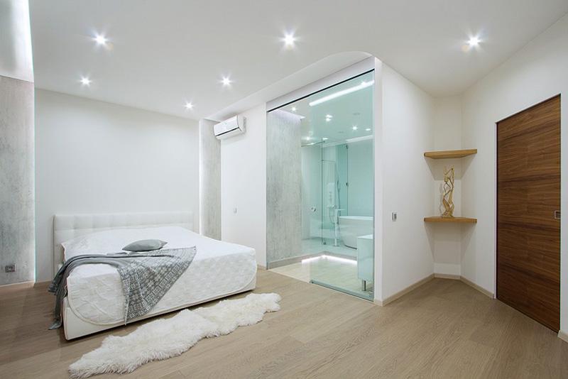 Không nên bố trí nhà vệ sinh chung ở trong phòng ngủ