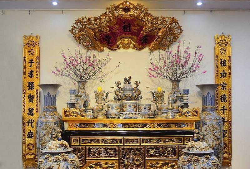 Nên trang trí bàn thờ gia tiên ở nơi trang trọng nhất trong nhà