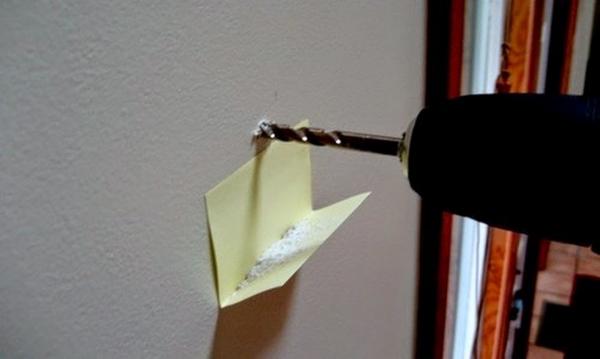 Giấy ghi chép hỗ trợ vụn khoan tường
