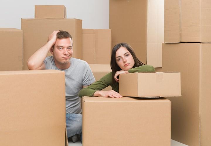Stress căn thẳng khi chuyển nhà