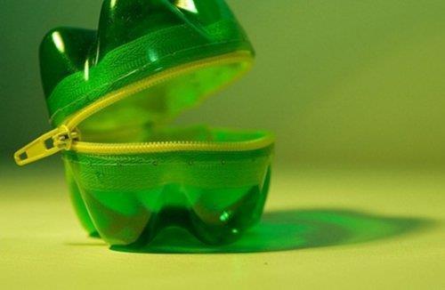 Tái chế chai nhựa thành ví