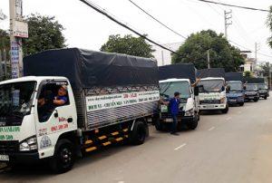 Thuê xe tải chở hàng tại quận 4