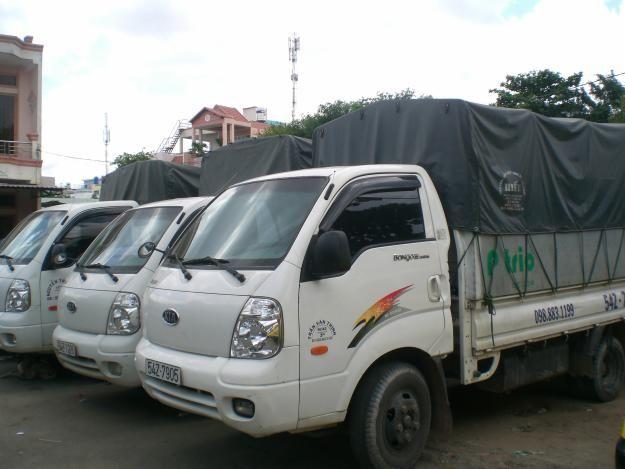 Hệ thống xe tải nhiều chủng loại