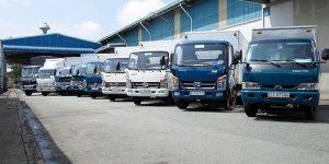 Thuê xe tải chở hàng tại quận 12
