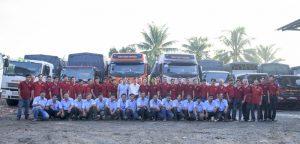 Đội ngũ xe tải chuyên nghiệp
