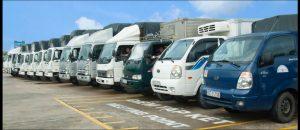 Đội ngũ xe tải đa dạng phục vụ mọi nhu cầu khách hàng