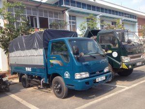 Thuê xe tải chở hàng huyện Nhà Bè