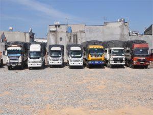 Dịch vụ cho thuê xe tải chở hàng quận 4 tphcm