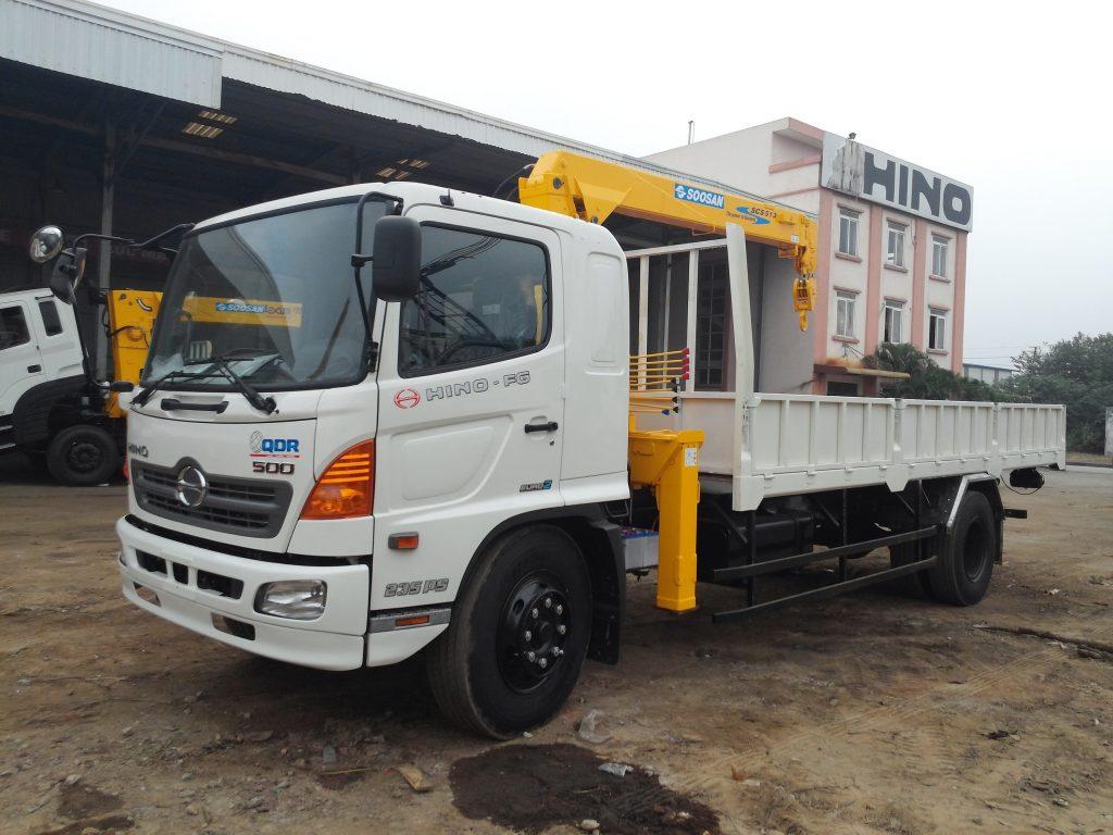 Dịch vụ cho thuê xe cẩu huyện Bình Chánh tphcm