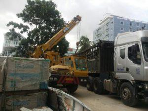 Dịch vụ cho thuê xe cẩu quận Gò Vấp tphcm