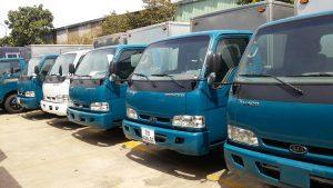 Thuê xe tải chở hàng tại quận 8