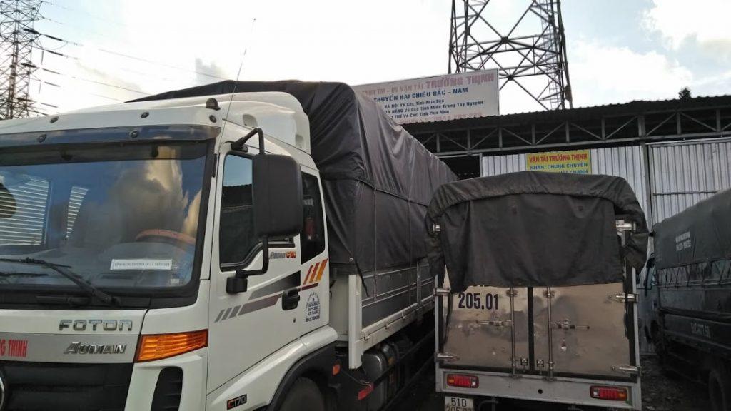 Dịch vụ cho thuê xe tải chở hàng sài gòn đi bình định