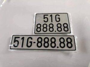 Biển số xe 51 là biển số ở tại tphcm