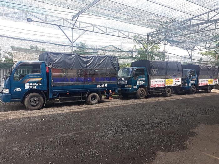 Dịch vụ cho thuê xe tải chở hàng quận 1 tphcm