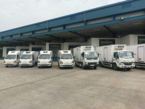 Dàn xe tải đầy đủ mọi dòng xe