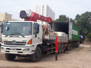Dịch vụ cho thuê xe cẩu huyện Cần Giờ tphcm
