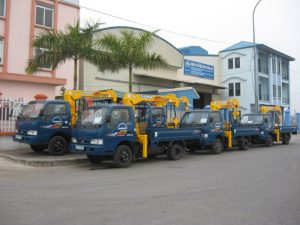 Hệ thống xe cẩu chất lượng luôn mang lại sự hài lòng cho khách hàng