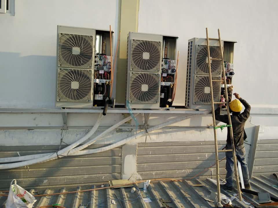 Dịch vụ tháo lắp di dời máy lạnh giá rẻ quận Phú Nhuận