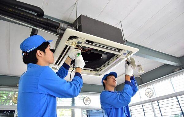 Dịch vụ tháo lắp di dời máy lạnh giá rẻ huyện Hóc Môn