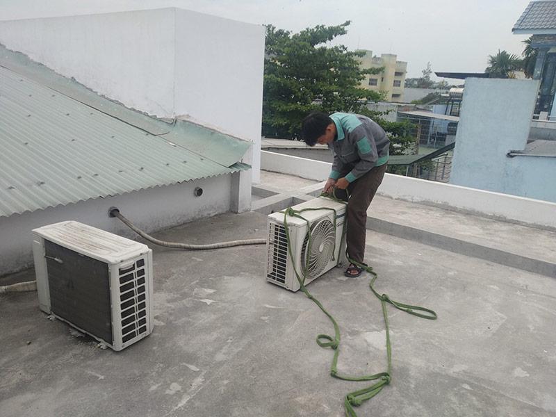 dịch vụ tháo lắp di dời máy lạnh giá rẻ quận 3 tphcm