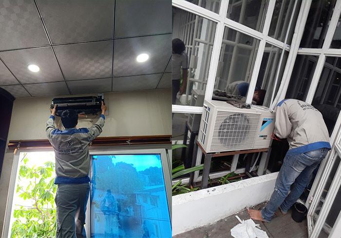dịch vụ tháo lắp di dời máy lạnh giá rẻ quận 7 tphcm