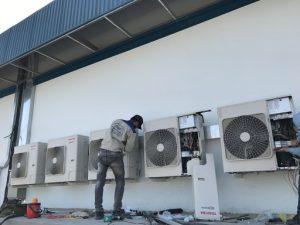 dịch vụ tháo lắp di dời máy lạnh giá rẻ quận Bình Tân