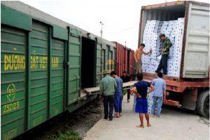 Cách tính cước vận chuyển bằng đường sắt
