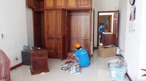 Lắp đặt lại tủ tại nhà mới