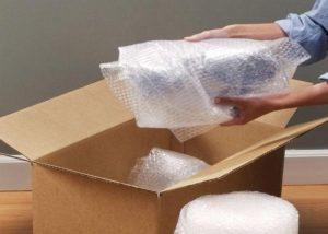 Giấy bubdle gói hàng dễ vỡ