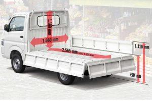Kích thước xe tải chở hàng, thùng xe tải 500Kg trở lên