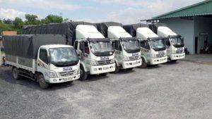 Chành xe chở hàng hóa
