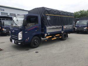 Kích thước thùng xe tải 3.5 tấn là 4,7m x 2m x 2m (dài x rộng x cao).
