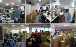 Quy trình thực diện dịch vụ chuyển văn phòng chuyên nghiệp và nhanh chóng
