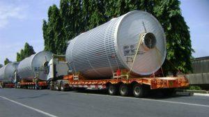 Hàng siêu trọng là hàng không thể tháo rời, có trọng lượng > 32 tấn.