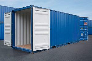 Container 20 Feet hai cửa