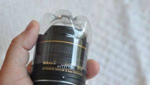Tái chế vỏ chải bảo vệ ống kính