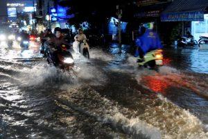 Tránh những khu vực bị ngập lụt