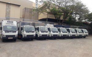 Quy trình cho thuê xe tải