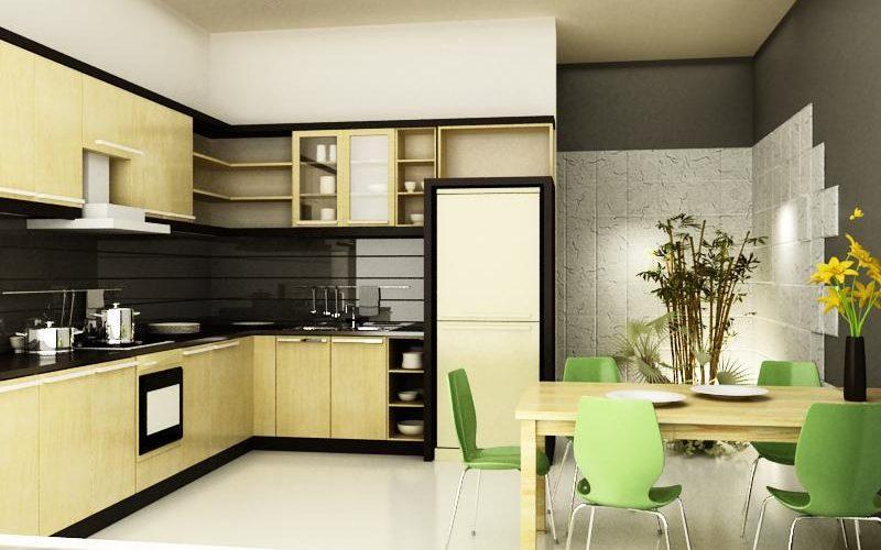 Màu sắc phong thuỷ trong nha bếp