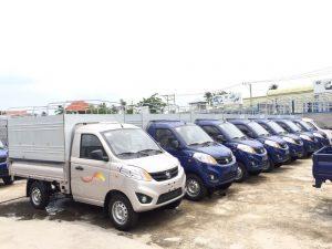 Bảng giá cho thuê xe tải nhỏ 2021 uy tín, chuyên nghiệp