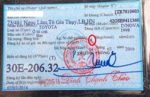Thời hạn cấp đăng ký biển số xe máy điện