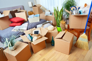Chuẩn bị đồ đạc trước 1 tháng khi chuyển nhà